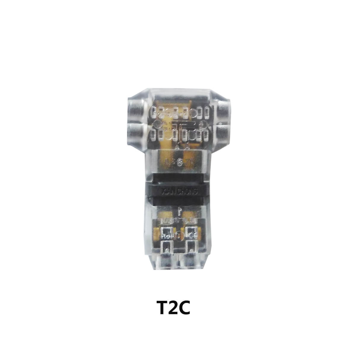 low voltage t tap wire connectors quick splice 22 20awg extension cable rh alightings com  ac low voltage wiring diagram
