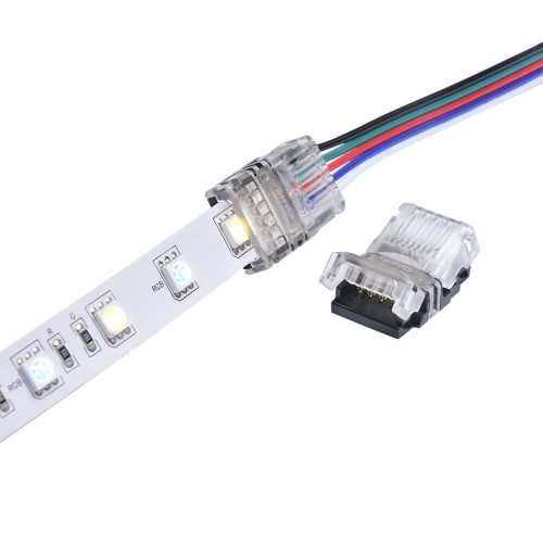 RGBW LED Connector 5 Pin for 12mm Non-Waterproof LED Strip Lights